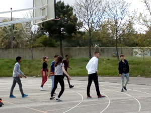 Basket s novými známými